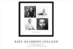 Baby-Klubbens Collage